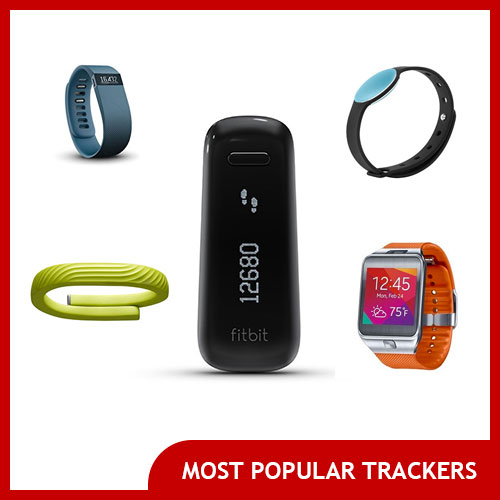Fitness Bands Comparison Chart: Fitness Tracker Bands And Clip-ons