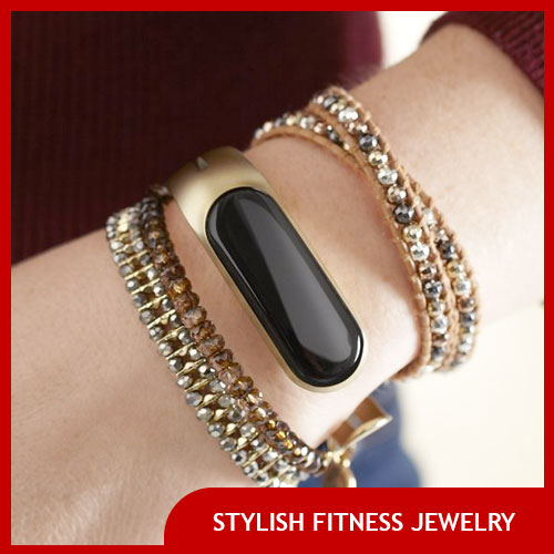 Ladies Stylish Exercise and Workout Bracelet and Jewelry