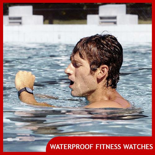 Waterproof Fitness Watch for Swimmers