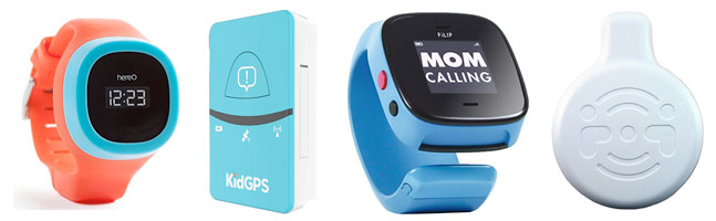 GPS Tracking Locator Clips and Kids GPS Watch