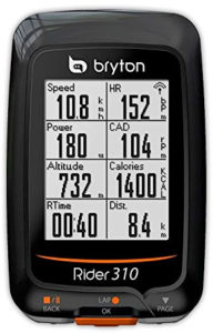 Bryton Rider 310 GPS Cycling Computer with Cadence