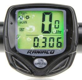 Raniaco Wireless Bike Speedometer & Odometer