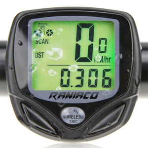 Raniaco Wireless Bike Speedometer and Odometer