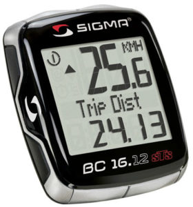 Sigma Sport BC16.12 Cycling Computer with Cadence