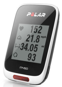 Polar M450 Computer with GPS for Bikes