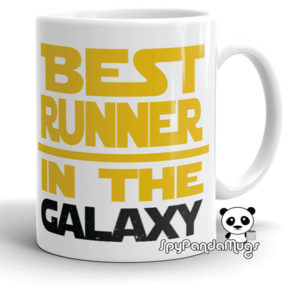 Best Runner In The Galaxy Mug